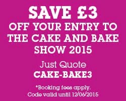 The Cake & Bake Show Discount