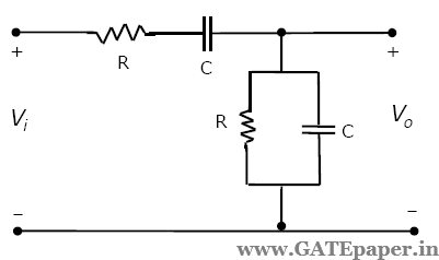 the procedure of the steady state sinusoidal response of high pass rl circuit