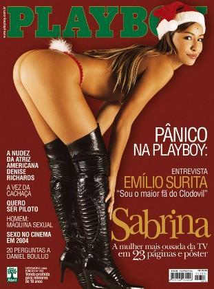 Sabrina Sato nua