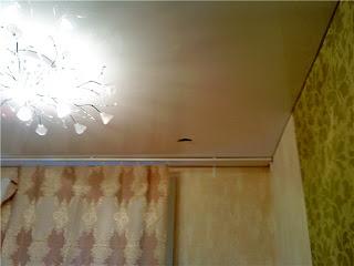 прокол в натяжном потолке