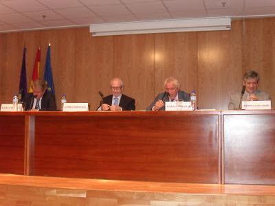 Juan Cuesta, Enrique Linde, Manuel Nuñez Encabo y Enrique Barón