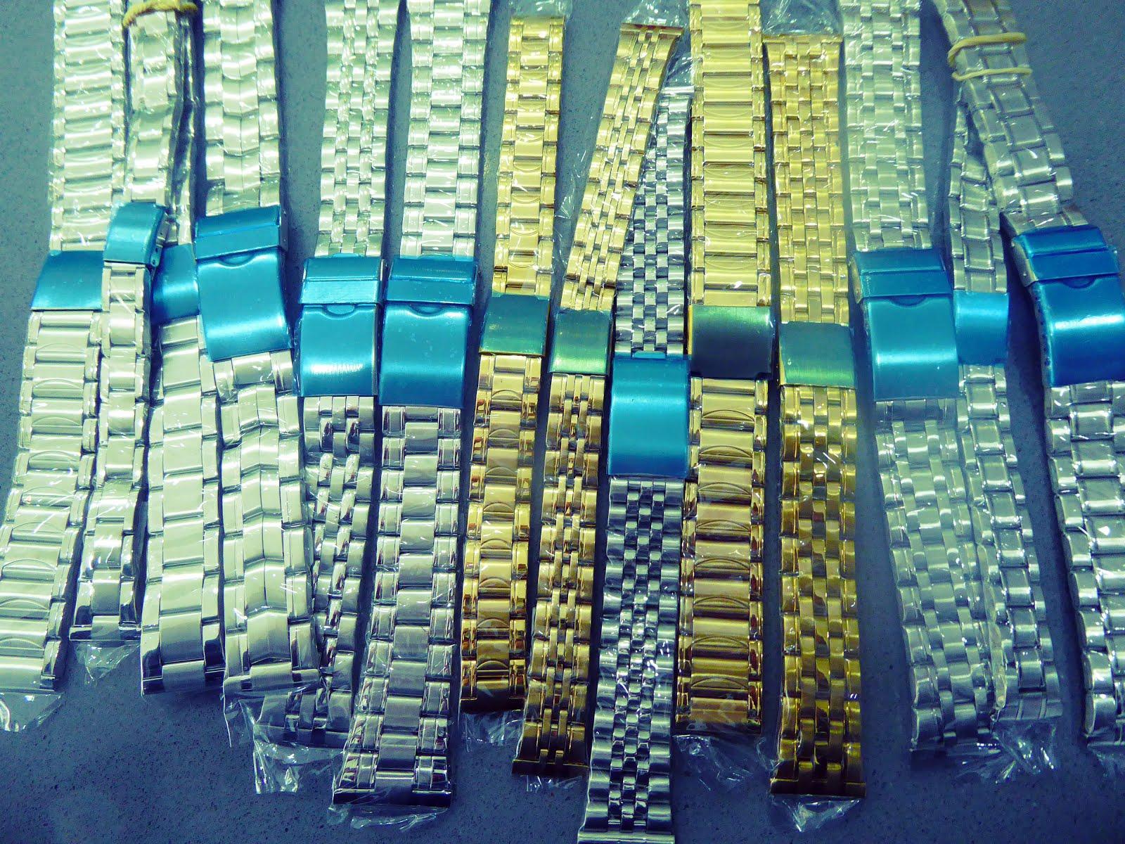Pulseras metálicas para reloj
