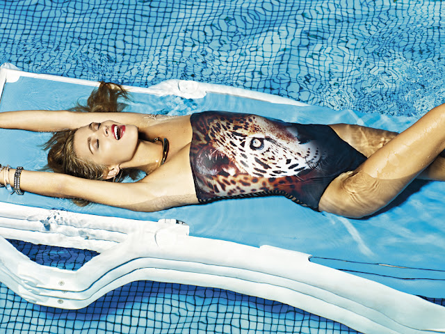 LaCaprichossa, Bershka, swimwear, summer, verano, bikinis, bañador, print, animal, luxury, retro, vintage, collection, coleccion de baño