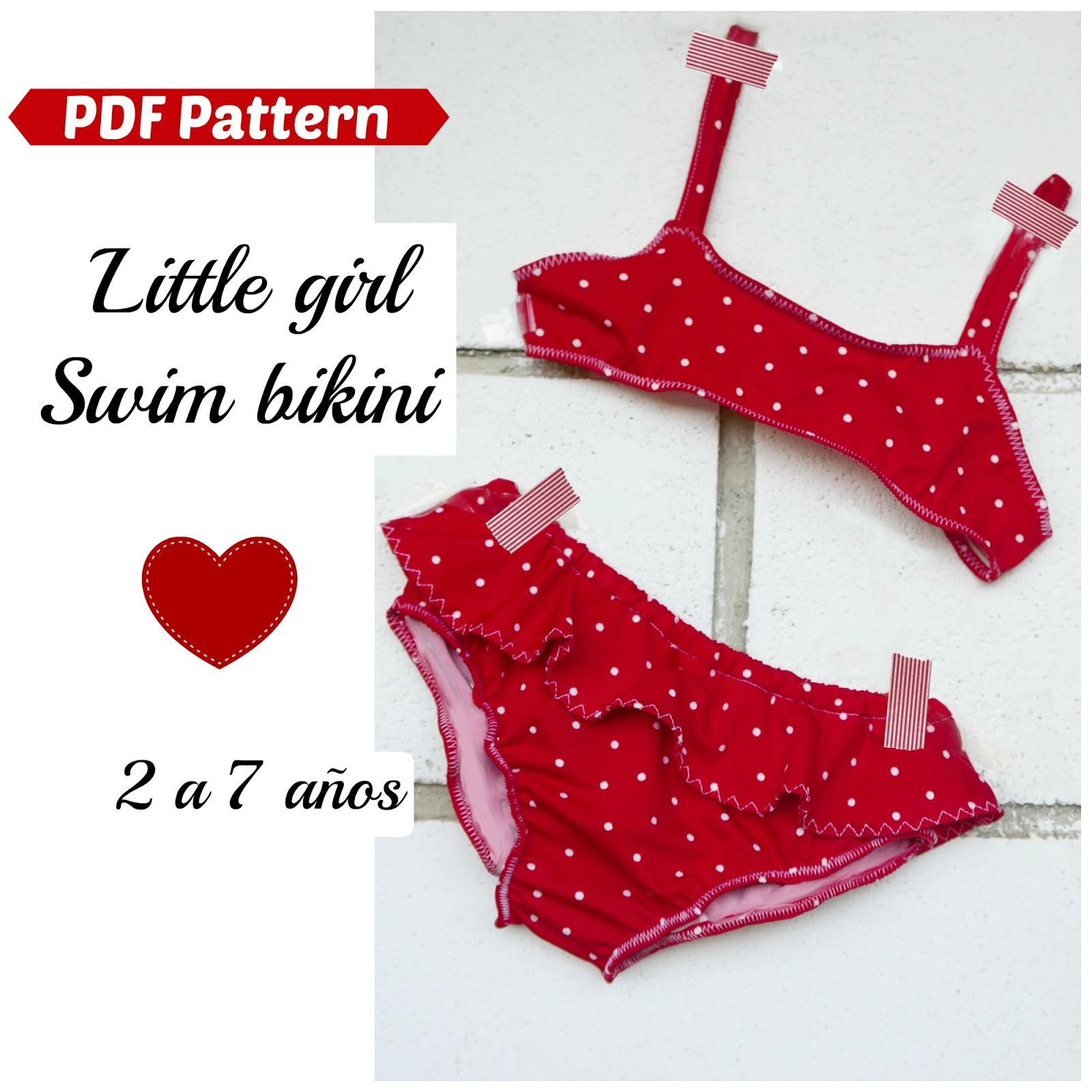 Consejos para hacer un bikini de niña ~ Colours for Baby