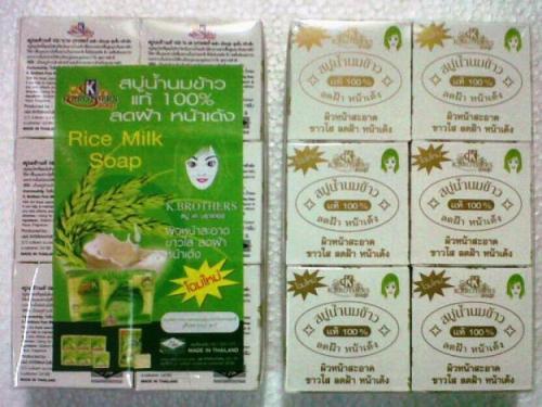 sabun beras susu thailand