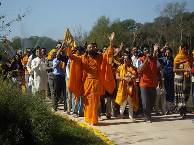 Govardhan Pooja at Radha Madhav Dham
