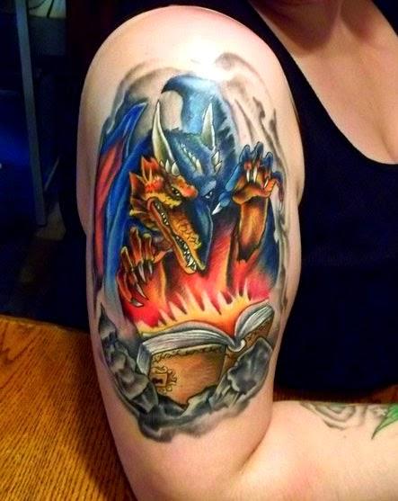 Desain Gambar Tato Naga Beserta Maknanya   Gambar Tips Info Tattoo ...