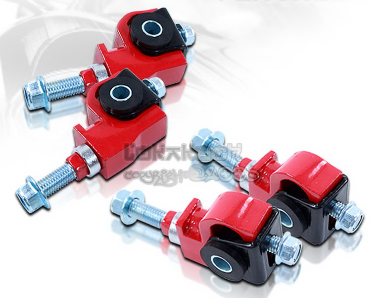 For Integra 90-97 Accord 88-95 Civic Front Camber Suspension Adjuster Kit Red