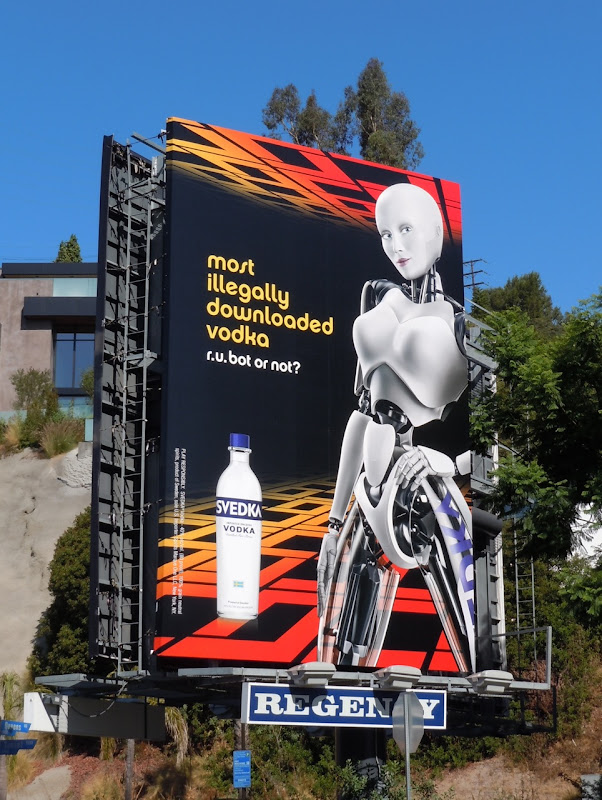 Svedka Vodka downloaded billboard
