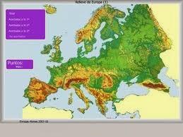 Europa relieve.
