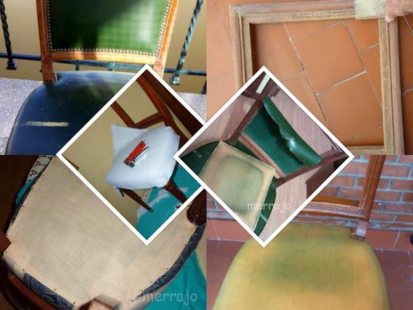 Tapizar respaldo silla hacer bricolaje es - Como tapizar una silla con respaldo ...