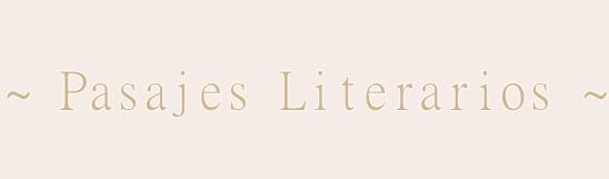 Pasajes Literarios