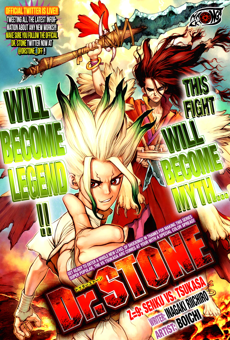 Dr. Stone Chapter 09-1