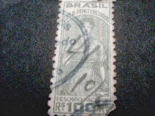 Selo Serviço/Polizas/Service/ 100 Rs