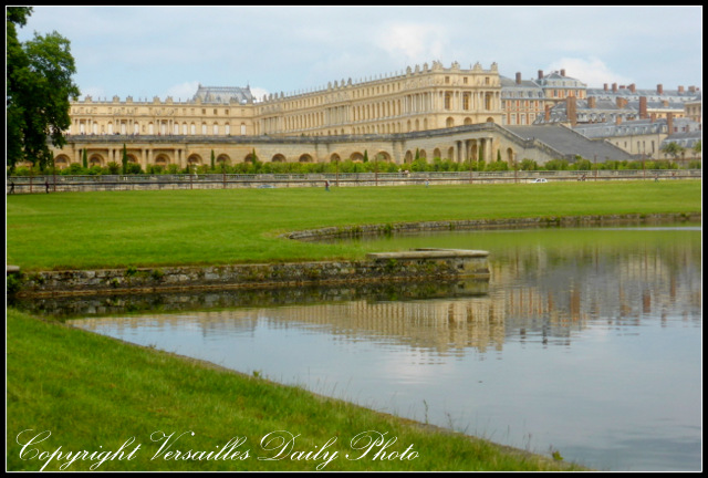 Versailles palace château orangerie swiss lake