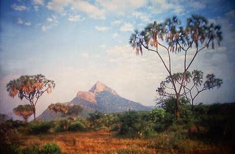 Tsavo en Kenia