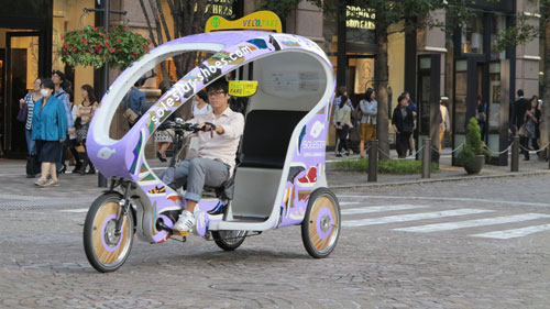 Velo Taxi Tokyo, Japan