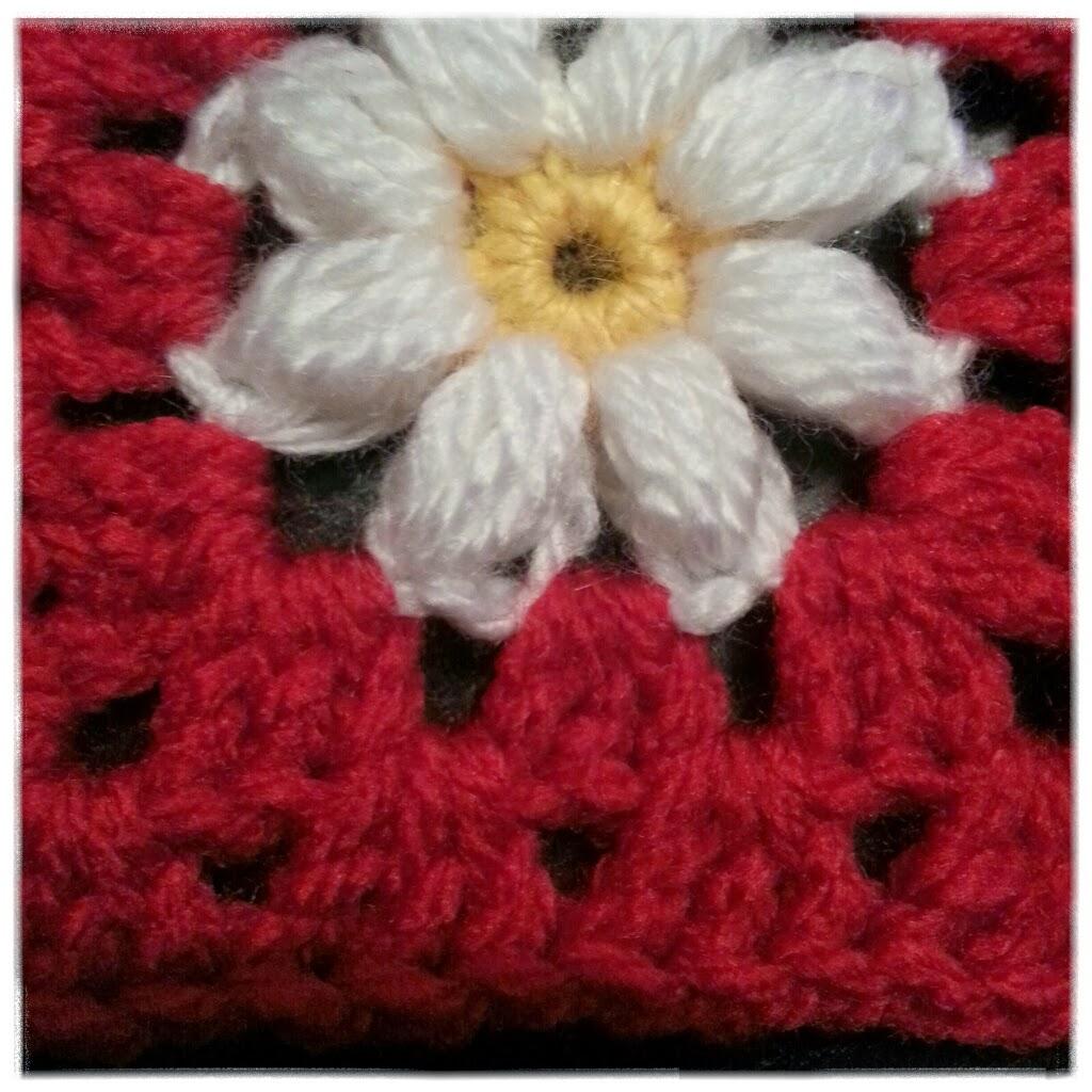 mormorsruta med blomma