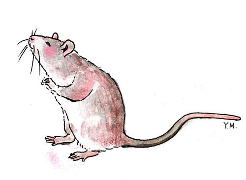 Mouse by Yukié Matsushita