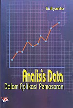 toko buku rahma: buku ANALISIS DATA DALAM APLIKASI PEMASARAN, pengarang suliyanto, penerbit ghalia indonesia