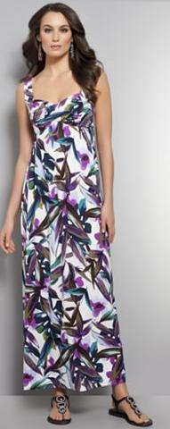 Sassy Fashionista Gorgeous Maxi Dress From New York And Company