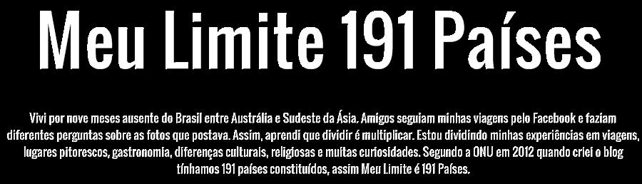 Meu Limite 191 Países