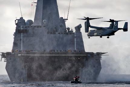 MV-22 OSPREY APPROACHES FOR LANDING