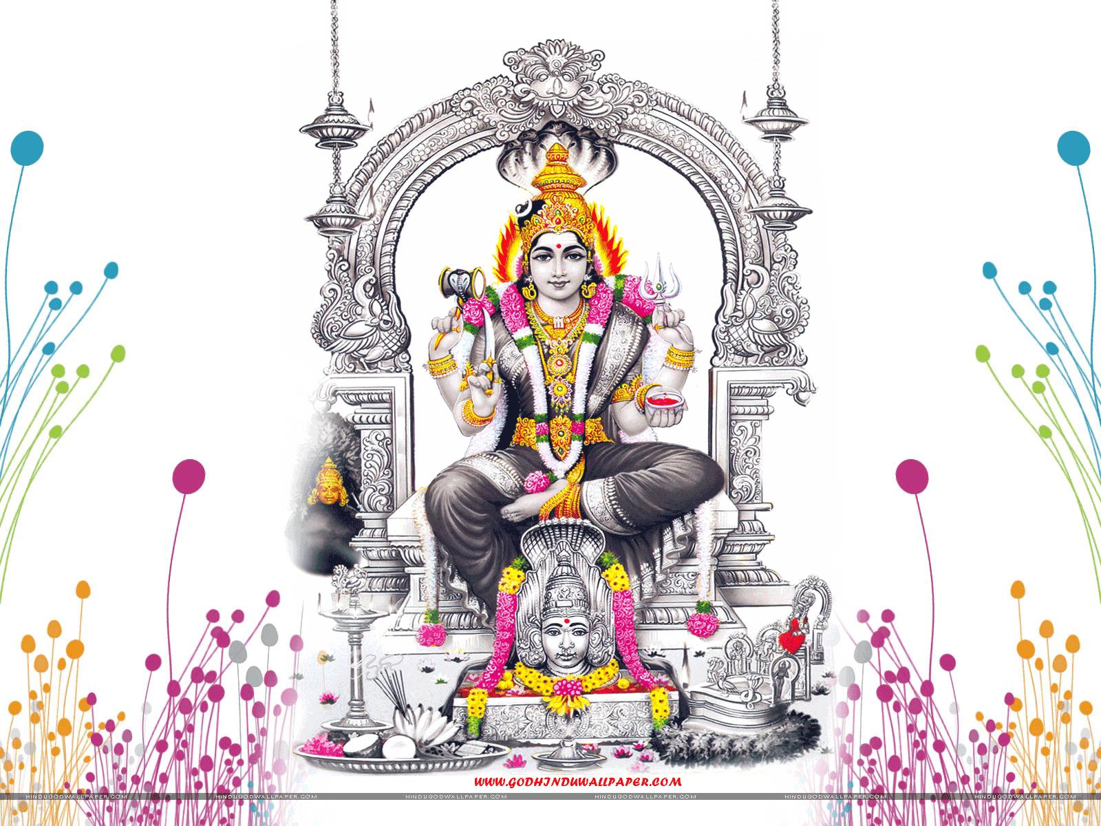 hindu god wallpapers lord amman wallpapers