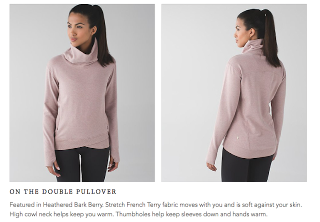 lululemon on-the-double-pullover