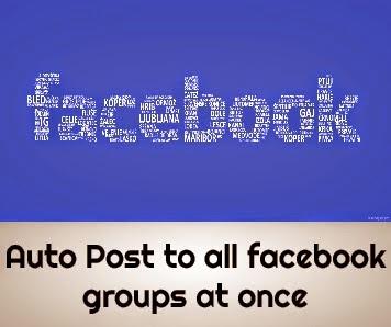 auto post on facebook groups, tự động đăng bài lên facebook