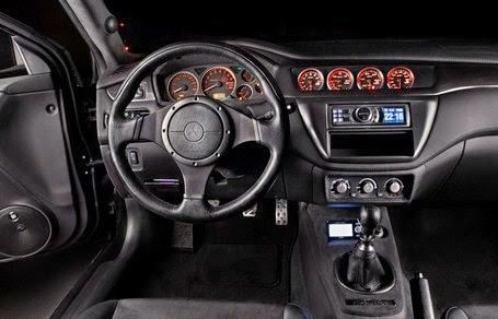 2016 Mitsubishi Lancer EVO XI interior