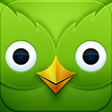 Duolingo - Learn Languages for Free App iTunes App Icon Logo By Duolingo - FreeApps.ws