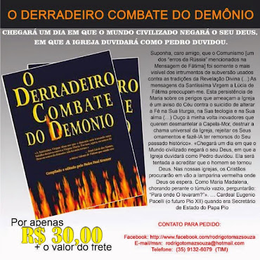 Livro - O Derradeiro Combate do Demônio.