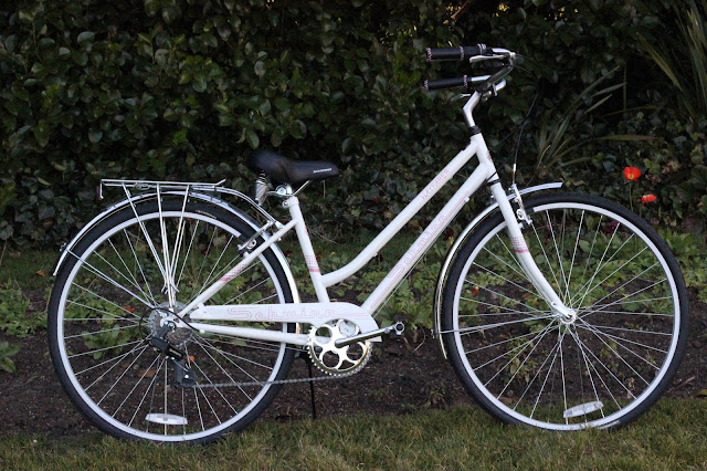 Schwinn White and Pink Bike