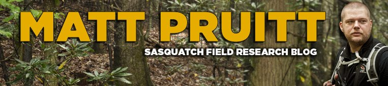 Matt Pruitt's Sasquatch Research Blog