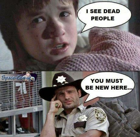 funny Walking Dead celebrities