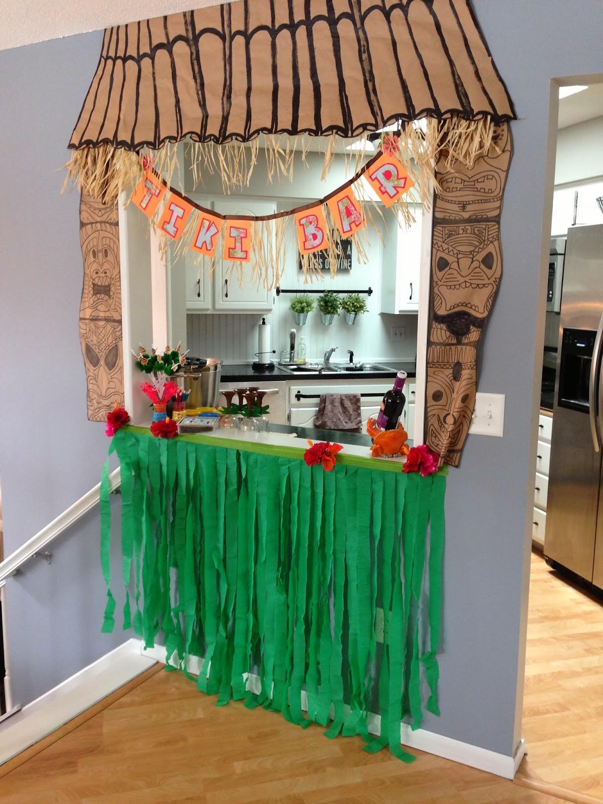 Our Hobby House Diy Hawaiian Grass Skirt