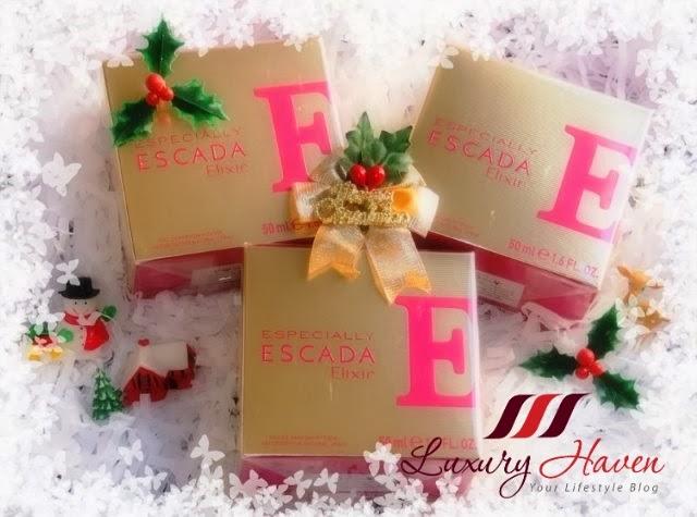 escada elixir eau de parfum christmas giveaway