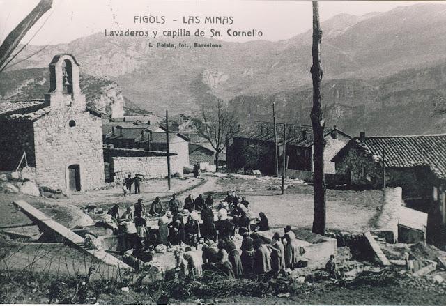 iglesia Colonia Sant Corneli lavadero figols las minas