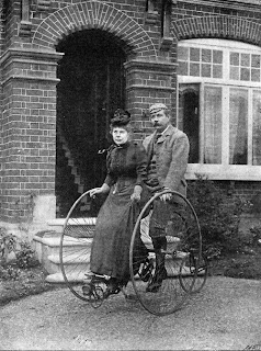 Arthur Conan Doyle and his wife