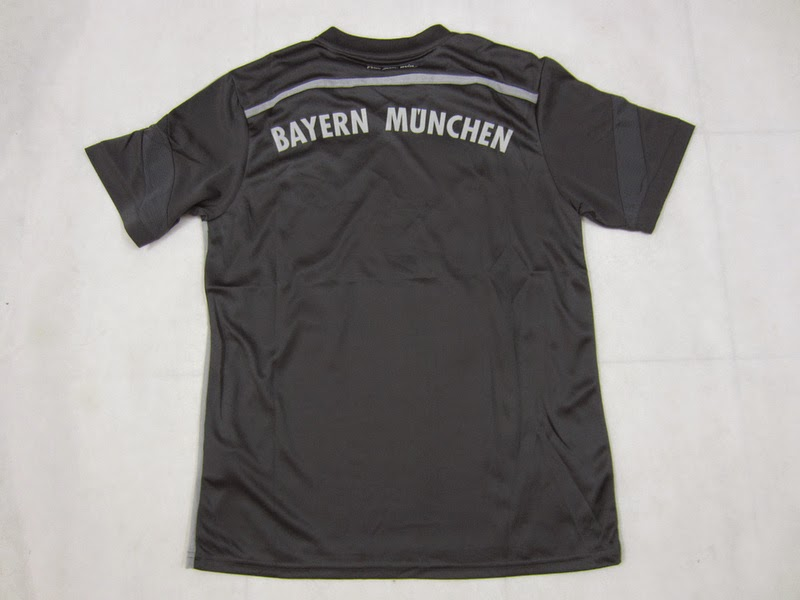 The new Bayern Munich 2014-2015 Third Shirt