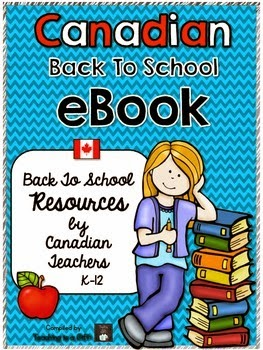 Canadian Back To School Ebook @teachingisagift