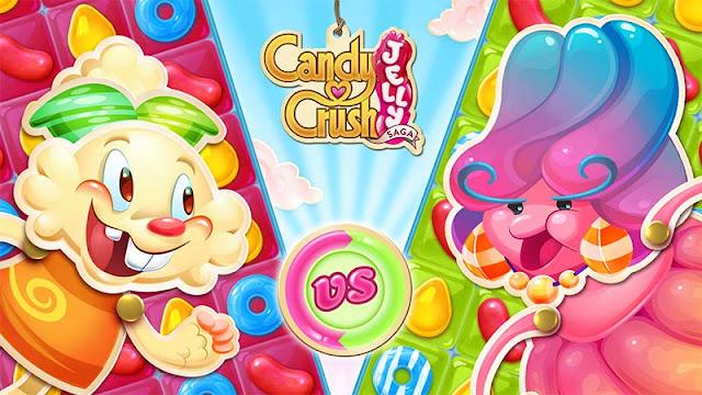 Candy Crush Jelly Saga para Android