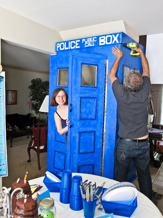 The Theme Party Girl Doctor Who Theme Party