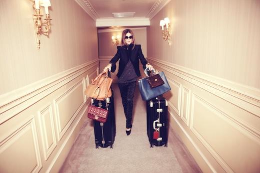 Olivia Palermo maletas