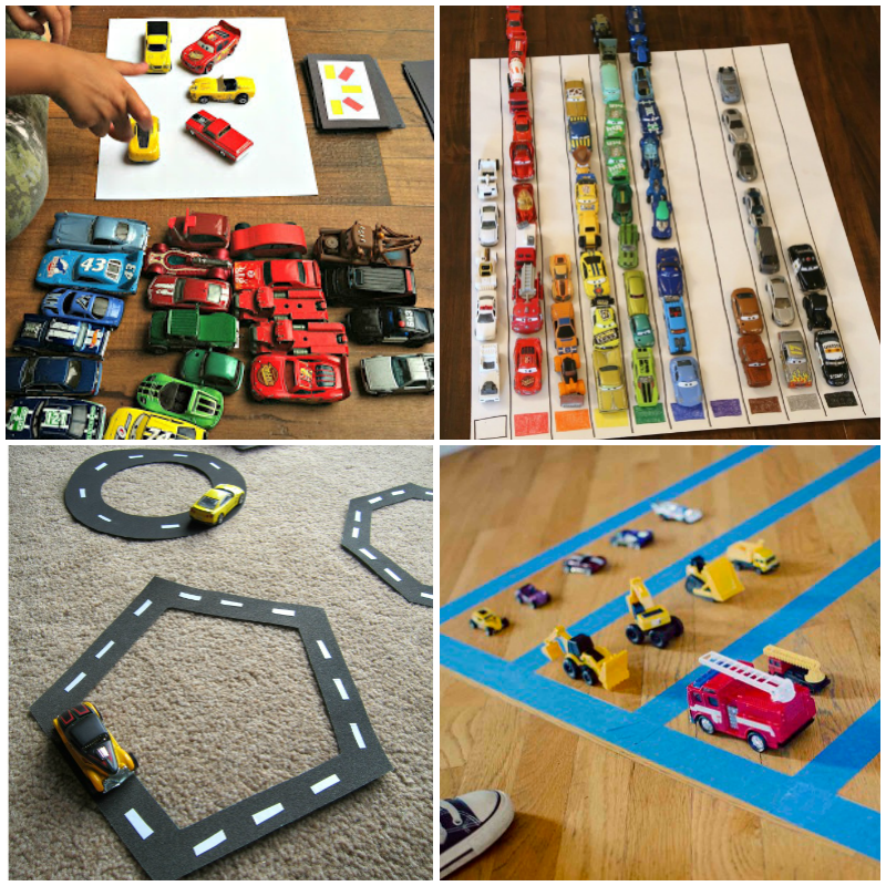 activities for car crazy kids use your toy car collection to its full potential with