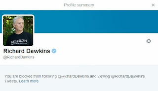 blocked by Dawkins