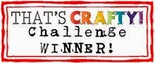 I Won @ That's Crafty! 17th May