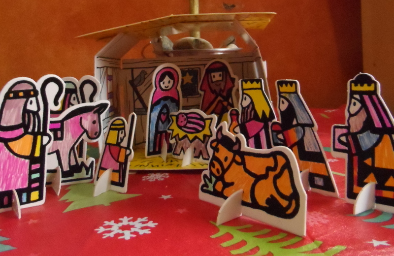 Staying with the nativity story the learning basket diy nativity play set solutioingenieria Gallery