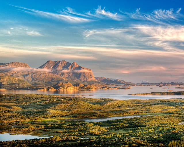 Dønnamannen on Dønna - Nordland